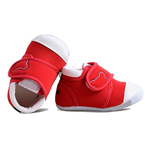 HLM Baby boy Shoes for Infant Newborn Girl Girls Boys Kids Babies Dress Tennis for Walking Running Size 4 5 Black White Shoes Sneakers Boots (5.51