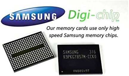 Digi-Chip HIGH SPEED 32GB UHS-1 CLASS 10 Micro-SD Memory Card for LG Ray LG X Screen LG X Cam /& LG Stylus 2 Phone Smartphone LG G5