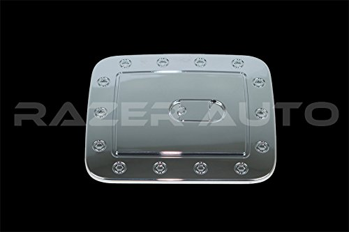 Razer Auto Triple Chrome Plated Gas Door Cover for 2013-2016 Nissan - Handle Pathfinder Nissan Tailgate