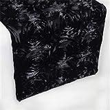 FidgetFidget Ribbon 3D 12'' x 196'' Black11.8 x108(30x275cm)
