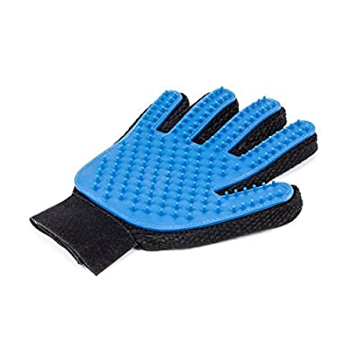 Tomby Deshedding Glove for Gentle and Efficient Pet Grooming from Tomby