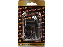MOTO-D 6MM Swingarm Spools Black