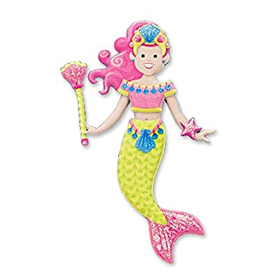 Melissa & Doug Puffy Sticker Play Set - Mermaid: Melissa & Doug: Toys & Games