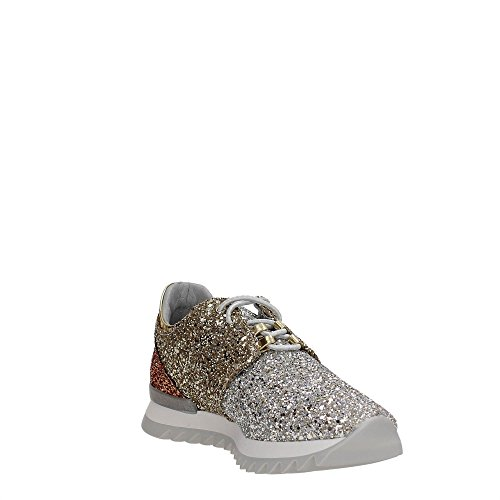 Patrizia Pepe 2B7049/A2QL Sneakers Mujer GOLD BRONZE