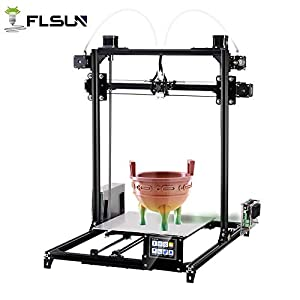 FLSUN 3D Printer Plus Prusa i3 Diy Kit Dual Nozzle Touch Screen Auto leveling Large 3D Printing Size Heated Bed Full Gifts from FLSUN