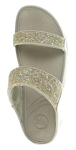 Fitflop Donna Rock Chic Open Toe Scarpe Con Ciottoli