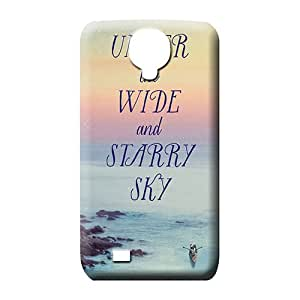 samsung galaxy s4 Shock-dirt Phone New Fashion Cases mobile phone skins sky blue air white cloud