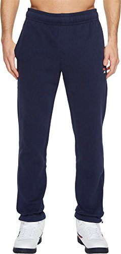 Fila Men's Classic Fleece Pants Peacoat Medium - Filas Classic