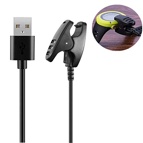 Charger for Suunto Ambit/Ambit2/Ambit2 S/Ambit 3, Power Cable for Suunto Run Sports Watch Replacement USB Charge Charging Cable Wire Cord Dock Clip Data Sync for SUUNTO