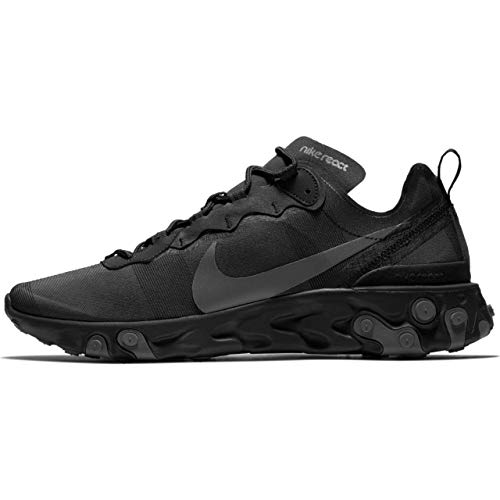 Nike React Element 55 - Bq6166-008 - Size 11.5, Black, Black-dark Grey ()