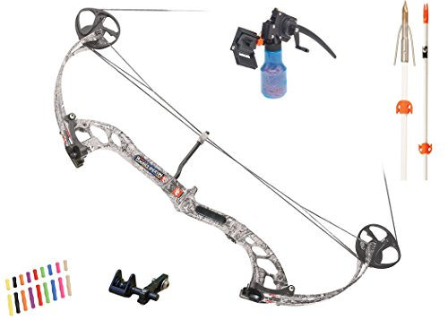 PSE Archery, Mudd Dawg Bowfishing Bow with AMS Kit Package, White, Right Hand, 40# Review