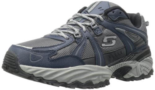 Skechers Sport Sneaker Kirkwood Homme Bleu Marine / Gris