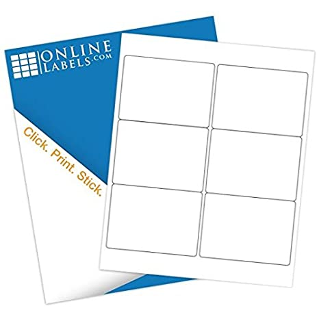 amazon com online labels 4 x 3 shipping labels pack of 600