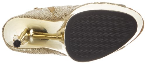 411 Sequin Il Dell'oro Donne Tallone Delle Bootie Ambra Più Alto qpxnxSPt