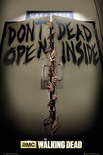 The Walking Dead - Keep Out Poster 24 x 36in -