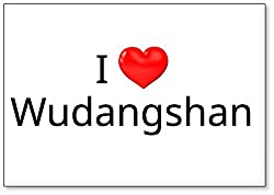 I Love Wudangshan, ChinaExplore the world and reminisce over travel with this classic high quality fridge magnet. Refrigerator magnets add style to your fridge and reflect your personality. Style up your fridge with our unique collection of refrigera...