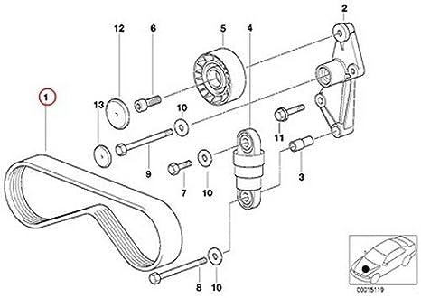 325xi Belt Diagram