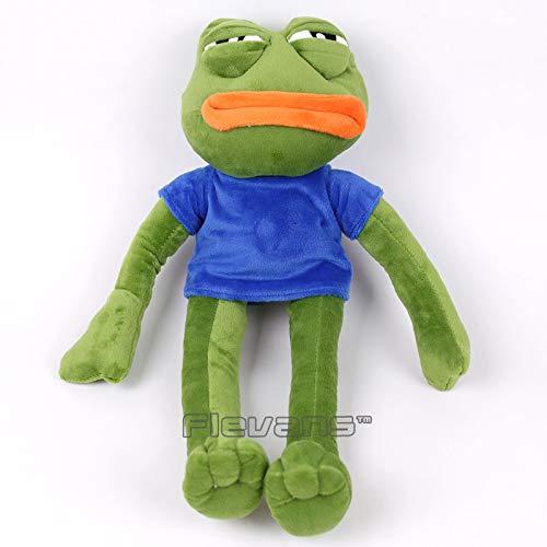 Amazon.com: GrandToyZone DOLL SERIES - 42cm (16.5 inch) Green Sad Frog Soft Stuffed Plush Doll: Toys & Games