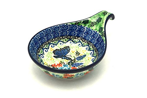 Polish Pottery Spoon/Ladle Rest - Unikat Signature - U4600