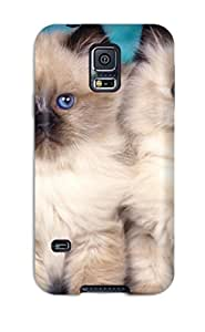 Galaxy High Quality Tpu Case/ Cat KvIilQX4475whMic Case Cover For Galaxy S5