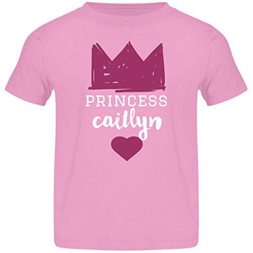 FUNNYSHIRTS.ORG Girls Princess Caitlyn Tee: Jersey Toddler T