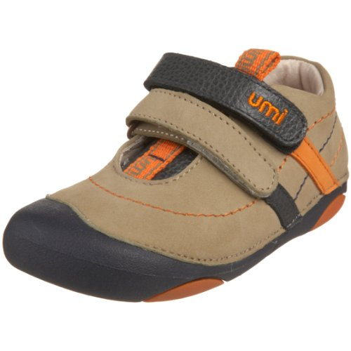 umi Infant/Toddler Ollie Double Strap (Toddler),Taupe,19 M EU (4 M US Toddler)