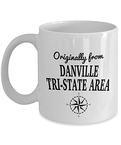 Phineas and Ferb Mug - Originally from Danville, Tri-State Area - Cool Ceramic 11oz and 15oz Coffee Mug - World's Best Television Fans GIft