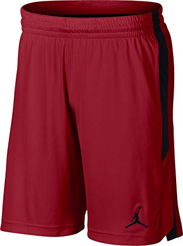 Jordan 905782-687: 23 Dry Knight Mens Gym Red Black Shorts (XL) (Red And Black 23 Jordans)
