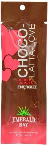 Emerald Bay Choco Latta-Love Double Bronzer Energize Sachet 15ml by Emerald (Love Double Bronzer)