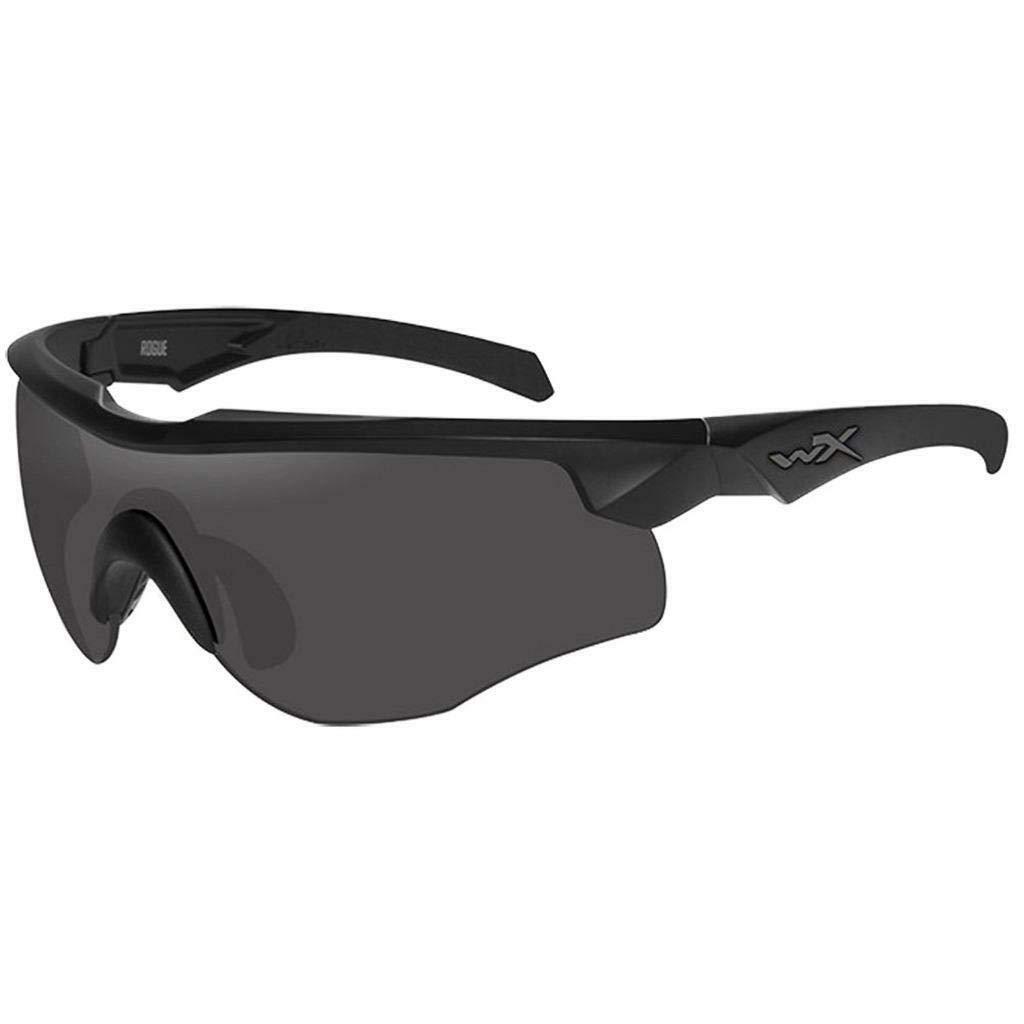 Wiley X Rogue Smoke Gray-Clear-Light Rust Lens Matte Black [並行輸入品]   B07KDQV8DG