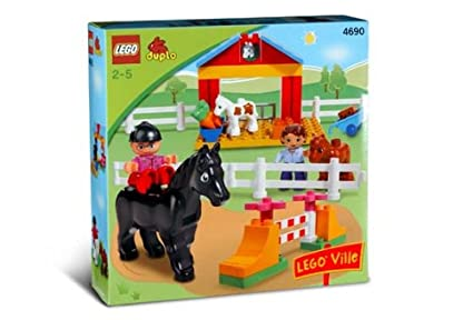 Amazon.com: LEGO Duplo 4690 Ville Pony estable: Toys & Games
