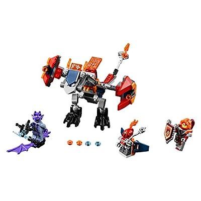 LEGO Nexo Knights Macy's Bot Drop Dragon 70361 Building Kit (153 Piece): Toys & Games