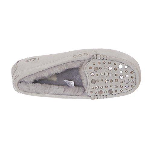Ugg Cloutées Bling Les Sur Ansley Gris Slip Chaussures Violet awT6qrax