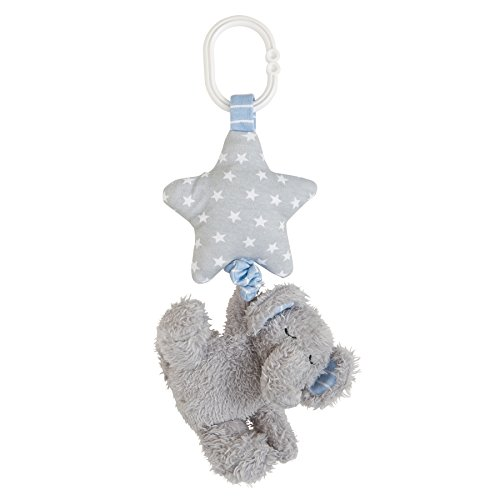 Mud Pie Stroller Buddy On The Go Toy, Elephant
