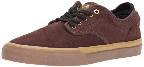 Skateboard Homme Emerica De G6 Chaussures Gomme Wino Noir Marron Pour Hqxx1wp