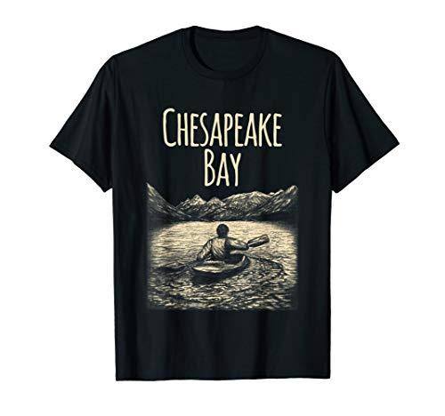 Chesapeake Bay Kayak Shirt - Paddling Shirts For Women & Men