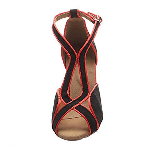 Minitoo ,  Damen Tanzschuhe , rot - rot - Größe: 37.5