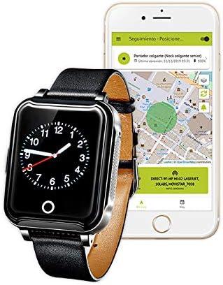 Nock Senior 3 - Reloj teléfono localizador GPS para Alzheimer o Personas Mayores