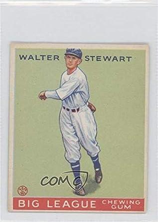 Amazoncom Walter Stewart Baseball Card 1933 Goudey Big