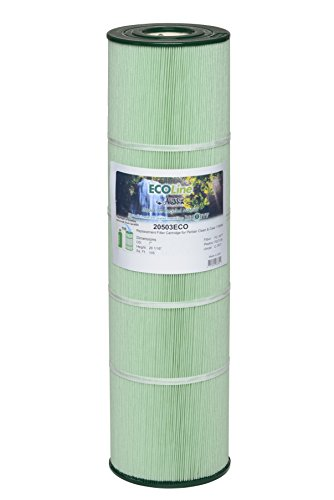 Pentair Clean & Clear 420, R173576 OEM 178584, NEW ECO-LINE CARTRIDGE Aladdin 20503, Unicel C7471, Pleatco PCC105, Filbur FC1977, Replacement Swimming Pool Filter Cartridges PACK of 4 by Aladdin ECO-line