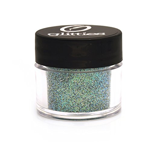GLITTIES COSMETIC Extra Fine Mixed Glitter Powder-Make Up, Body, Face, Hair, Lips & Nails (Mermaid Splash)