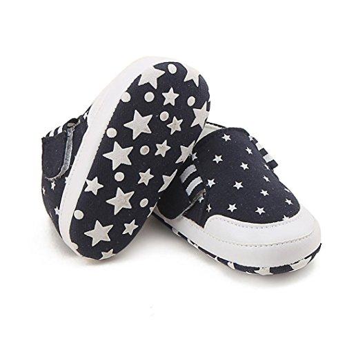 Zapatos de bebé SMARTLADY Zapatos del antideslizante para Recién nacido Niña Niño Navy