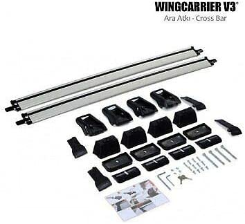 ALU V3 ROOF Rack Cross Bars Cross Rail Lockable FIT for Mazda CX-5 2012-UP