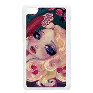 Little Bria Rose iPod Touch 4 Case White DIY GIFT pp001_8000274