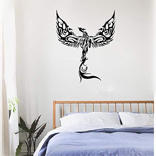 Vinyl Wall Decals Quotes Sayings Words Art Decor Lettering Vinyl Wall Art Phoenix Fantasy Bird Fantastic Beast Forks of Flame