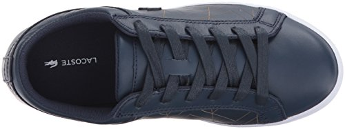 Lacoste Womens Straightset Lace 417 1 Sneaker Blu Scuro