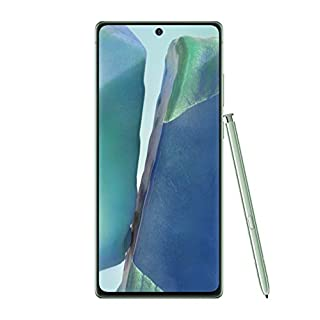 Samsung Galaxy Note20 5G Factory Unlocked Android Cell Phone | US Version | 128GB of Storage | Mobile Gaming Smartphone | Long-Lasting Battery | Mystic Green