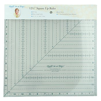 Quilt in a Day 12-1/2-Inch by 12-1/2-Inch Square Up Ruler by Quilt In A Day