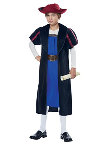 California Costumes Christopher Columbus/Explorer Costume, X-Large, -
