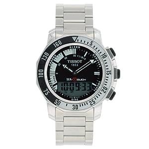 Amazon.com: Tissot Men's T0264201105101 Sea-Touch Watch